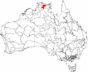 Interim Biogeographic Regionalisation for Australia - Image: IBRA 6.1 Arnhem Plateau