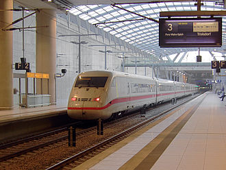 Cologne/Bonn Airport station - ICE 2 in station