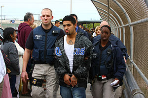 U.S. Immigration and Customs Enforcement - ICE ERO officers deporting a man wanted for two murders in Mexico.