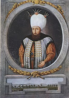 Ahmed III Sultan of the Ottoman Empire from 1703 to 1730