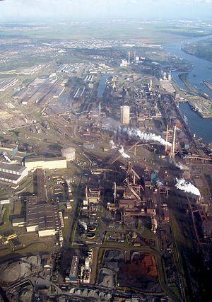 Koninklijke Hoogovens - IJmuiden blast furnaces