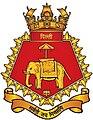 INS Delhi (D61) crest.jpg