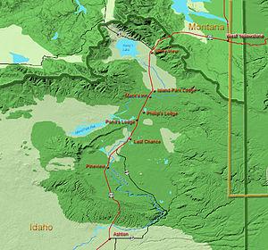 Island Park, Idaho - Upper Henrys Fork  drainage