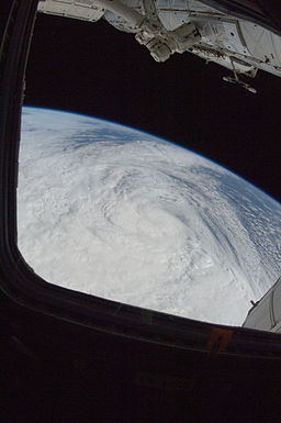 ISS-33 Hurricane Sandy from Space