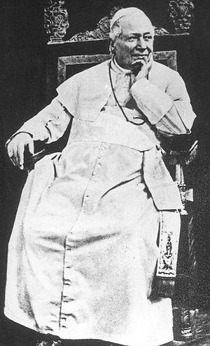 Kulturkampf - Pope Pius IX (ca. 1878)