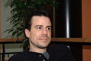 Ian Murdock interview at Holiday Club hotel 2008 (2).jpg