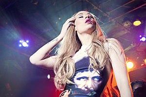 Iggy Azalea - Azalea performing at Irving Plaza in New York City on The New Classic Tour, May 2014