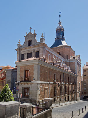 Cristóbal de Sandoval, Duke of Uceda - Church of the Convent of the Holiest Sacrament (Santisimo Sacramento) founded by the Duke of Uceda in 1615 in Madrid