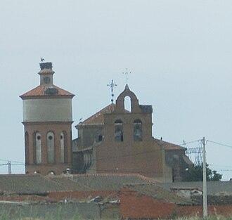 Aldeanueva del Codonal - View of the Church of Aldeanueva del Codonal.