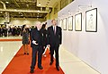 Ilham Aliyev viewed exhibition marking 90th anniversary of People's Artist Tahir Salahov 10.jpg