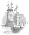 Illustrirte Zeitung (1843) 17 270 2 Watson's Telegraph vor dem Brande.PNG