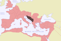 Location of Illyricum