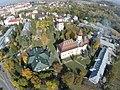 Imagine aeriană a Mănăstirii Sfântul Ioan cel Nou din Suceava.JPG