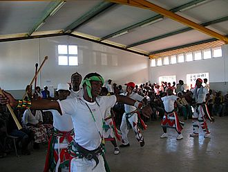Mpondo people - Imfene, a Mpondo Dance Festival, Kennedy Road Shack Settlement, Durban (2008)