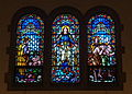 Immaculate Conception Church (Columbus, Ohio) - stained glass, Queen of the Immaculate Conception & Garden of Eden.jpg
