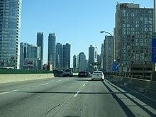 Gardiner Expressway : Gardiner expressway wikipedia