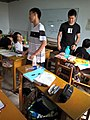 In a extra-curricular tuition class Tieling High School Class 11 Grade 2018 14.jpg