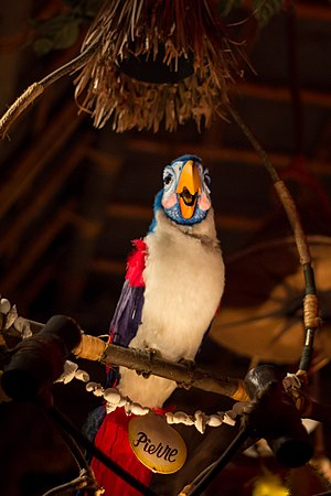 Audio-Animatronics - The Enchanted Tiki Room at Disneyland, the first attraction with Audio-Animatronics