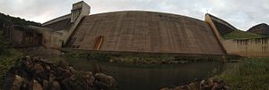 Inanda Dam - Image: Inanda Dam Wall