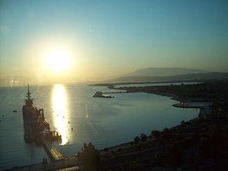 Balçova - Sea museum and Izmir bay from Inciralti, Balçova