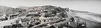 "Thomas H. Ince - ""Inceville"" Studios. Santa Ynez Canyon, Calif. (c. 1919)"