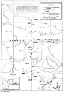 Indonesia–Papua New Guinea border