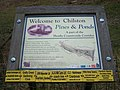 Information Board about Chilston Park Ice House Pond - geograph.org.uk - 1189004.jpg