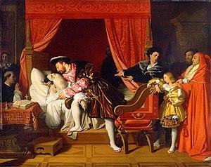 The Death of Leonardo da Vinci - Image: Ingres Death Of Da Vinci