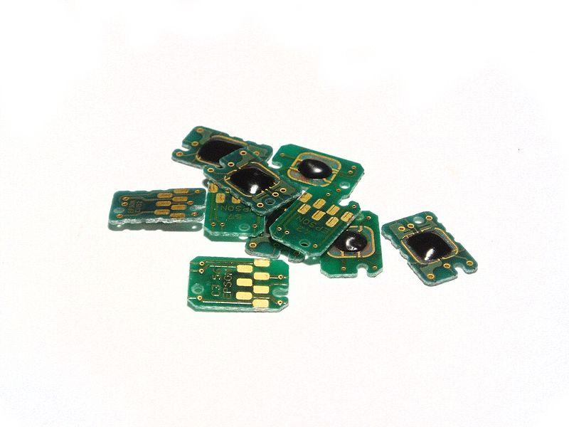 File:Inkjet Cartridge Microchips 2.jpg