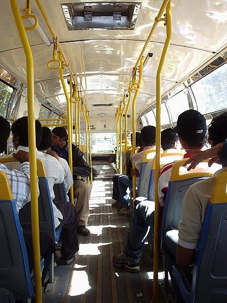 File:Inside BMTC Bus.jpg