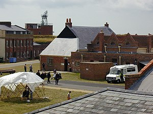 Fort Cumberland (England) - Interior of the fort.