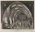 Interior View of Vladislav Hall at Prague Castle during the Annual Fair MET DP328099.jpg