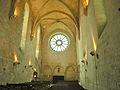 Interior of Abbaye de Saint-Jean-aux-Bois nef 2.JPG