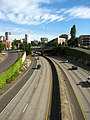 Interstate 405 from NW Everett Street in Portland, OR.jpg