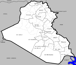 Districts of Iraq administrative territorial entity of Iraq