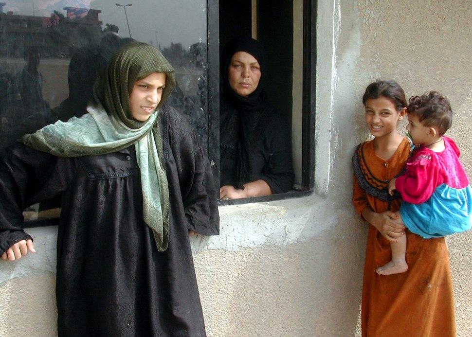 Iraqi Refugees, Damascus, Syria