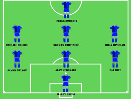 c5375627548 Irish Football Association s Greatest Ever Team – Subs