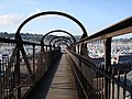 Iron footbridge, Kingswear Station, Dart Estuary - geograph.org.uk - 1535236.jpg
