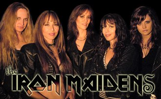 The Iron Maidens - The Iron Maidens 2007-2008 lineup