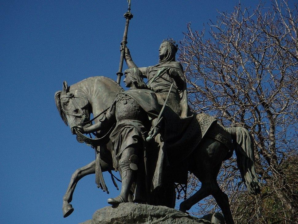 Isabella of Castile by Manuel Oms Canet Madrid