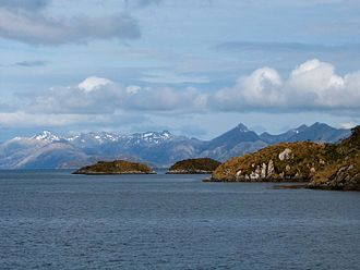 Gordon Island - Gordon Island, seen from the Beagle Channel