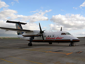 Regional airliner - The De Havilland Dash 8-100.
