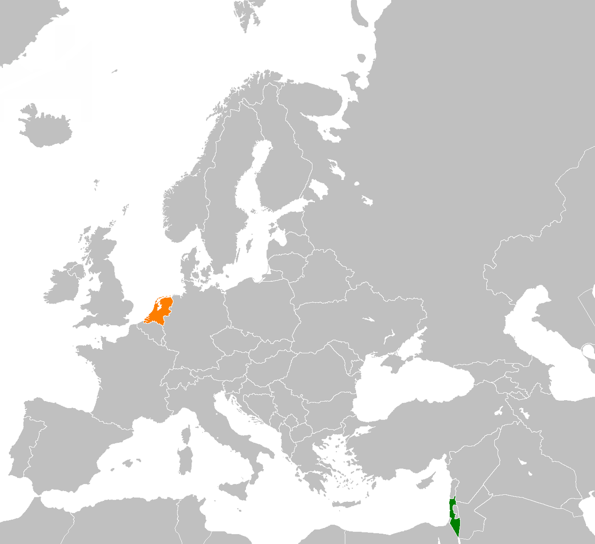 IsraelNetherlands Relations Wikipedia - Netherlands embassy kuwait map