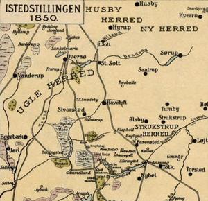 Battle of Isted - Image: Istedstillingen