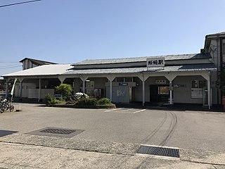Itozaki Station Railway station in Mihara, Hiroshima Prefecture, Japan