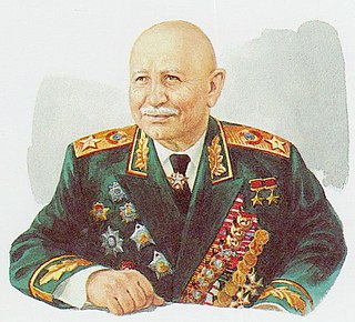 Ivan Bagramyan Soviet military commander