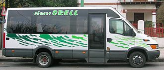 Iveco - Image: Iveco Daily obuses Orell