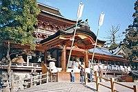 Iwashimizu Hachiman Shintō shrine, Kyoto Prefecture