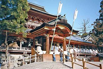 Kyoto Prefecture - Iwashimizu Hachimangū, a Shinto shrine in Yawata