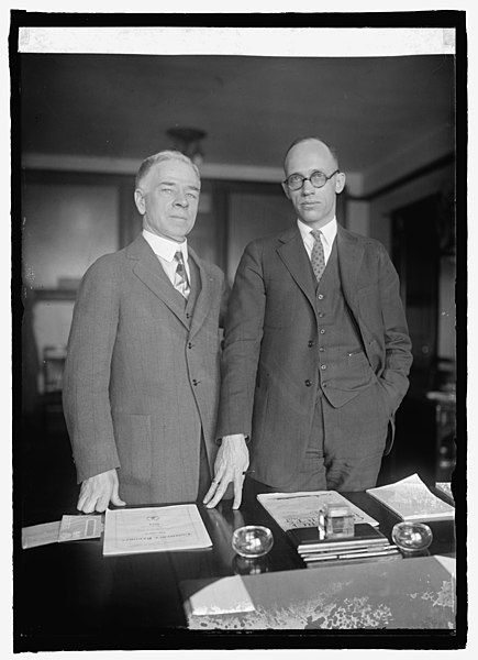 File:J.H. MacLafferty and H.N. Graves of Dept. of Commerce ...